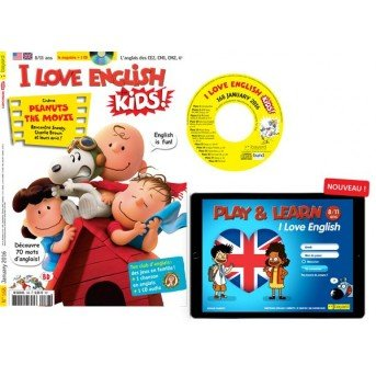 I Love English for Kids