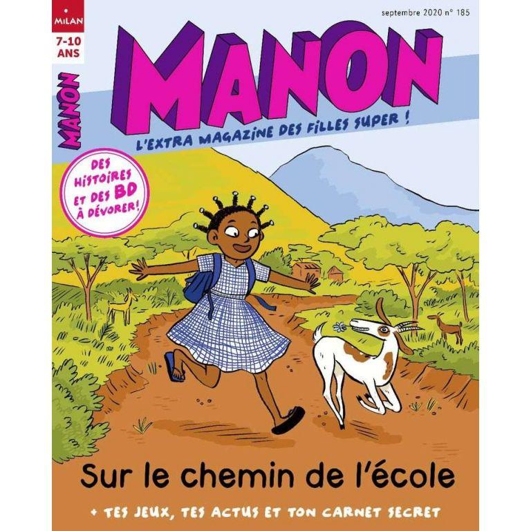 Abonnement Magazine Manon Pour Les Filles De 7 A 10 Ans